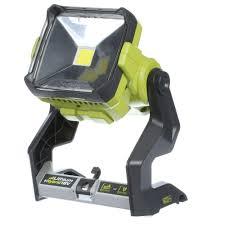 battery powered work lights ryobi 18 volt one hybrid 20 watts led work light tool only p721