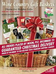 Wine And Country Baskets Wine Country Gift Baskets U2013 Holiday Wine Serving Suggestions