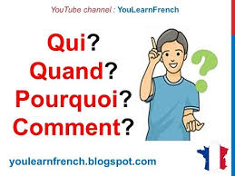 french lesson 57 interrogative pronouns question words ask