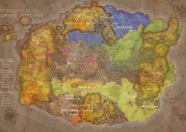 Wow Kalimdor Map Map Of Azeroth Before The Well Of Eternity Was Destroyed Rebrn Com