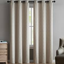 Grommet Curtains Ivy Bronx Cortese Geometric Room Darkening Grommet Curtain Panels