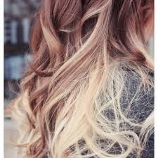 hair styles brown on botton and blond on top pictures of it 22 best hur images on pinterest hair colors colourful hair and