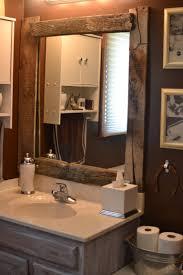 Framing Bathroom Mirror by Wood Framed Mirrors For Bathroom Szfpbgj Com