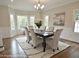 Pictures Of Wainscoting In Dining Rooms White Wainscoting With Wood Trim Dining Room Traditional With