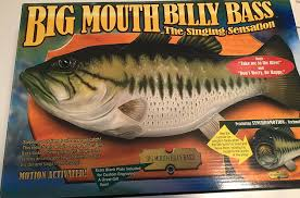 amazon com big mouth billy bass the singing sensation toys games