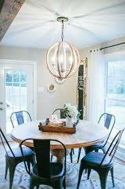 the den at dining in fixer minwax light and beams