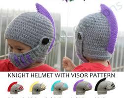 crochet pattern knight helmet free instant download pdf sir knight helmet crochet pattern