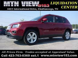 price jeep compass 2016 jeep compass latitude 4x4 chattanooga tn 20409356