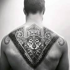 Back Tattoos - 50 back tattoos for masculine ink design ideas