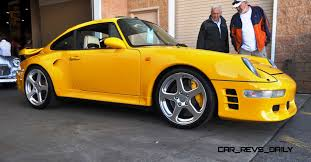 ruf porsche interior 1997 ruf porsche 911 turbo r yellowbird