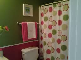 Pink Green Shower Curtain Pink And Lime Green Shower Curtains Shower Curtains Ideas