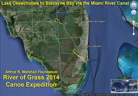 Cape Coral Florida Map River Of Grass Canoe Expedition 2014 U2013 Miami River Canal Out To