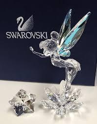 swarovski crystal memories journeys airplane figurine in original
