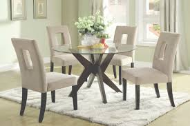 Glass Topped Dining Table And Chairs Dining Room Tables Oval Tempered Glass Top Dining Table Set