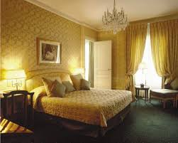 bedroom beautifull design elegant wood panel sfdark