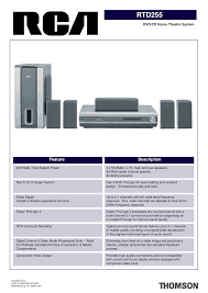 rca home theater system setup download free pdf for rca rtd255 home theater manual