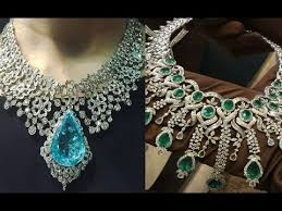 big necklace images Dhubai royal diamond collection big diamond necklace jpg