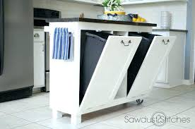 kitchen trash can ideas trash can ideas for kitchen best transitional kitchen trash cans