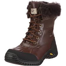 ugg s adirondack ii leather apres ski boots amazon com ugg s adirondack ii winter boot boots