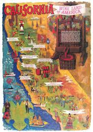 Sonoma California Map California Map Poster California Map