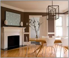 painting a room with a chair rail two colors paint home design