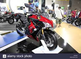 suzuki motorcycle 2015 bangkok august 4 suzuki gsx s 1000f motorcycle on display at