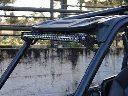 polaris rzr light bar 2014 2016 polaris rzr xp 1000 30 e sr series roof rigid industries