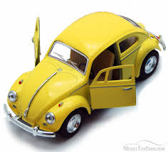 volkswagen classic beetle 1967 volkswagen classical beetle hard top yellow kinsmart 5375d