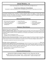 trendy design er nurse resume 11 emergency room nurse cover letter