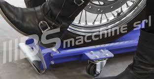 pedana sposta moto carrello posizionatore sposta moto scooter rimessaggio 300 kg