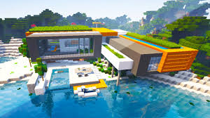 minecraft maps modern beach house youtube