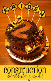 construction cake ideas construction cake kid s birthday cake idea