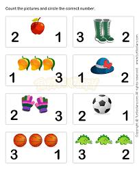 preschool number worksheet worksheets