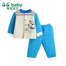 winter warm baby boy clothing set newborn pajamas infant