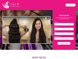 salons that do hair extensions hair extensions beauty salon bootstrap landing page skybootstrap