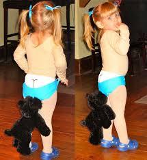 Baby Funny Halloween Costumes Halloween Coppertone Baby Meta Picture