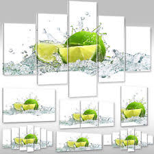 wandbilder esszimmer deko bilder drucke aus leinwand für küche und esszimmer ebay