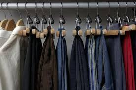 How To Organize Pants In Closet - how to store all of your clothes