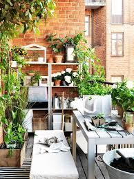 balkon gestalten ideen platzsparende moebel kleinen balkon gestalten ikea coole ideen