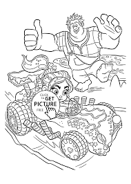 nice sweet car coloring pages for kids printable free wreck it