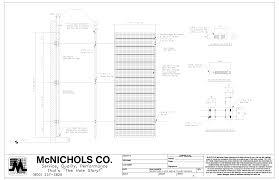 mcnichols eco mesh modular façade and trellis system