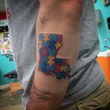 autism puzzle piece tattoo tattoo collections