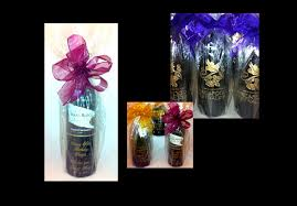 gift wrapping wine bottles wine bottle chagne personalized los angeles engraved