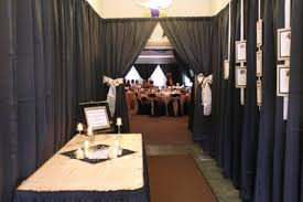 Pipe And Drape Rental Seattle Black And White Wedding Theme Weddings Beauty And Attire