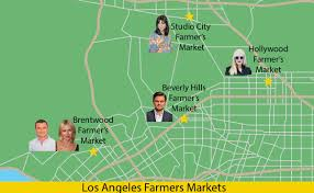 Star Maps Los Angeles by Star Maps Farmers Market Edition Modern Farmer
