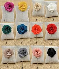 lapel flower lapel flower pins choose your color lapelsbysamuel