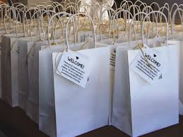 wedding guest bags set of 6 out of town guest box wedding welcome box wedding