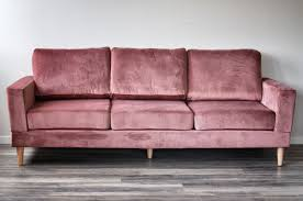 sofa rosa rosa trend velur 3 seter sofa dorothea no