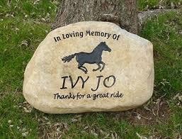 personalized garden stones garden stones memorial grave markers and pet