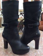 ugg s jardin boot ugg australia high 3 in and up leather s us size 7 ebay